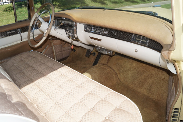 Used 1955 Cadillac Coupe DeVille Gold Cloth & White Leather | Torrance, CA