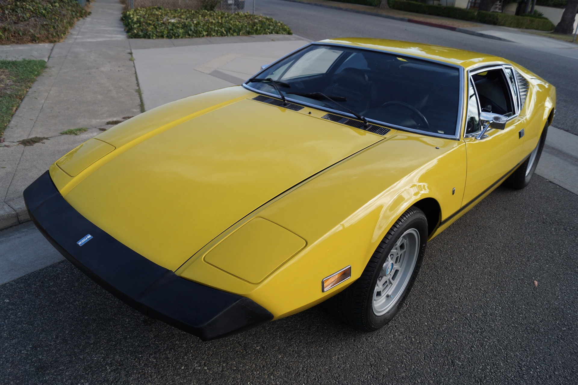 1974 De Tomaso Pantera L Black Leather Stock 269 for sale near