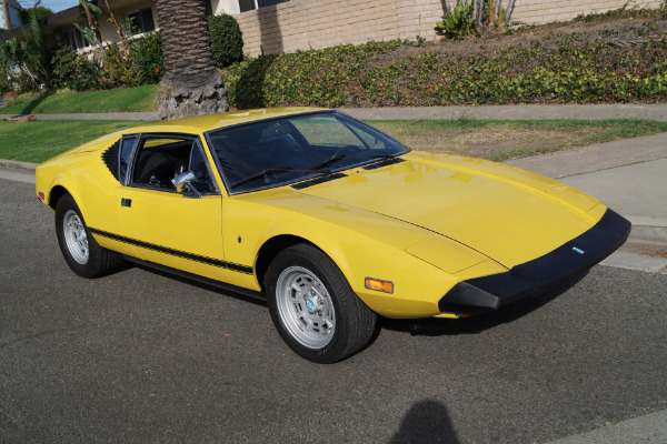 Used 1974 De Tomaso Pantera L Black Leather | Torrance, CA