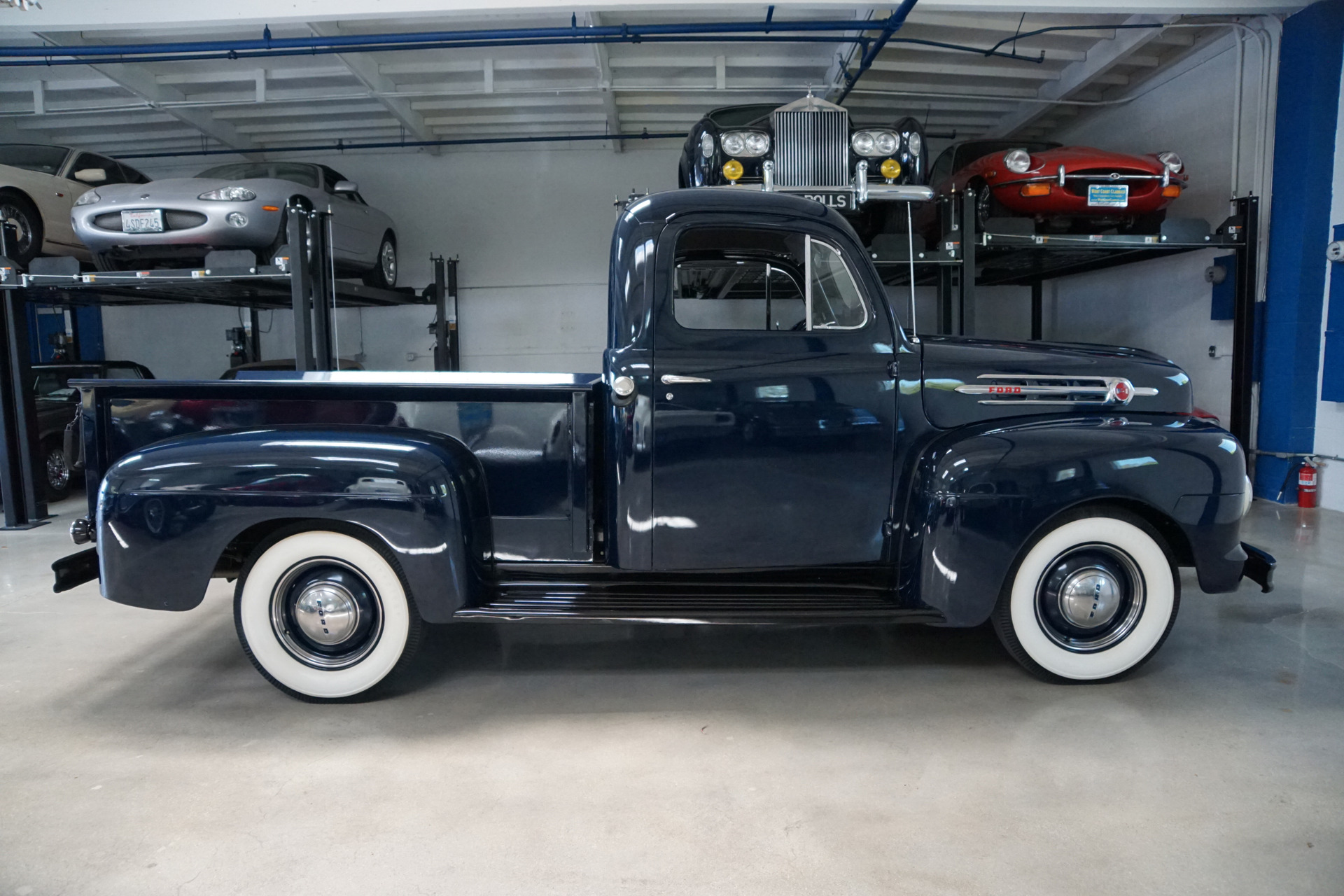 1952 Ford F1 1 2 Ton V8 Stock 949 For Sale Near Torrance Ca 1951 Chevy Truck Used