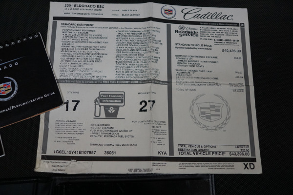 Used 2001 Cadillac Eldorado ESC | Torrance, CA