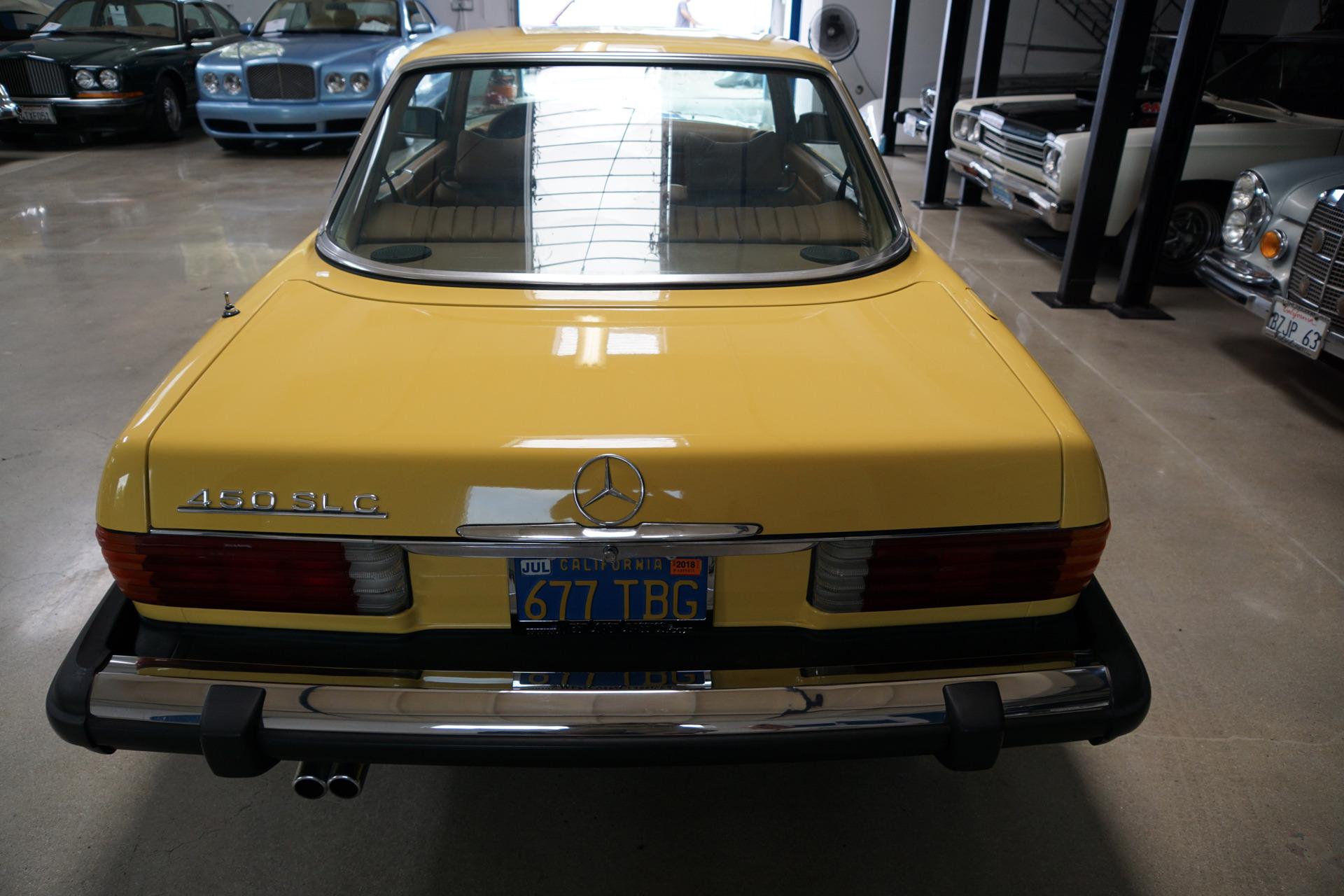 1977 mercedes benz 450slc stock 358 for sale near for Mercedes benz dealer in bakersfield ca