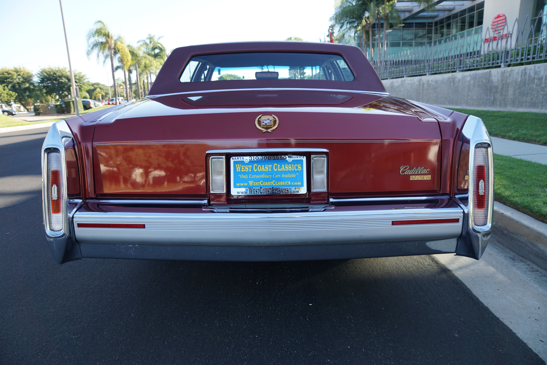 1991 Cadillac Brougham D'Elegance Stock # 026 for sale near