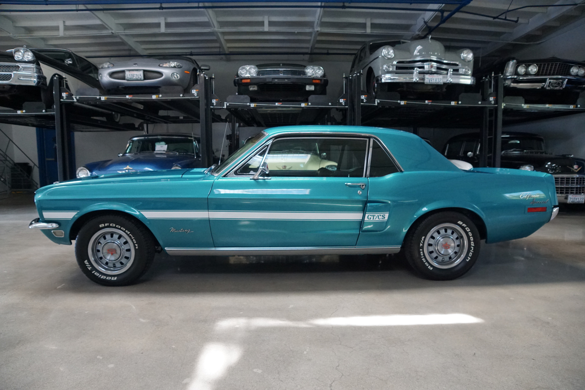 1968 Ford Mustang California Special California Special Stock # 212