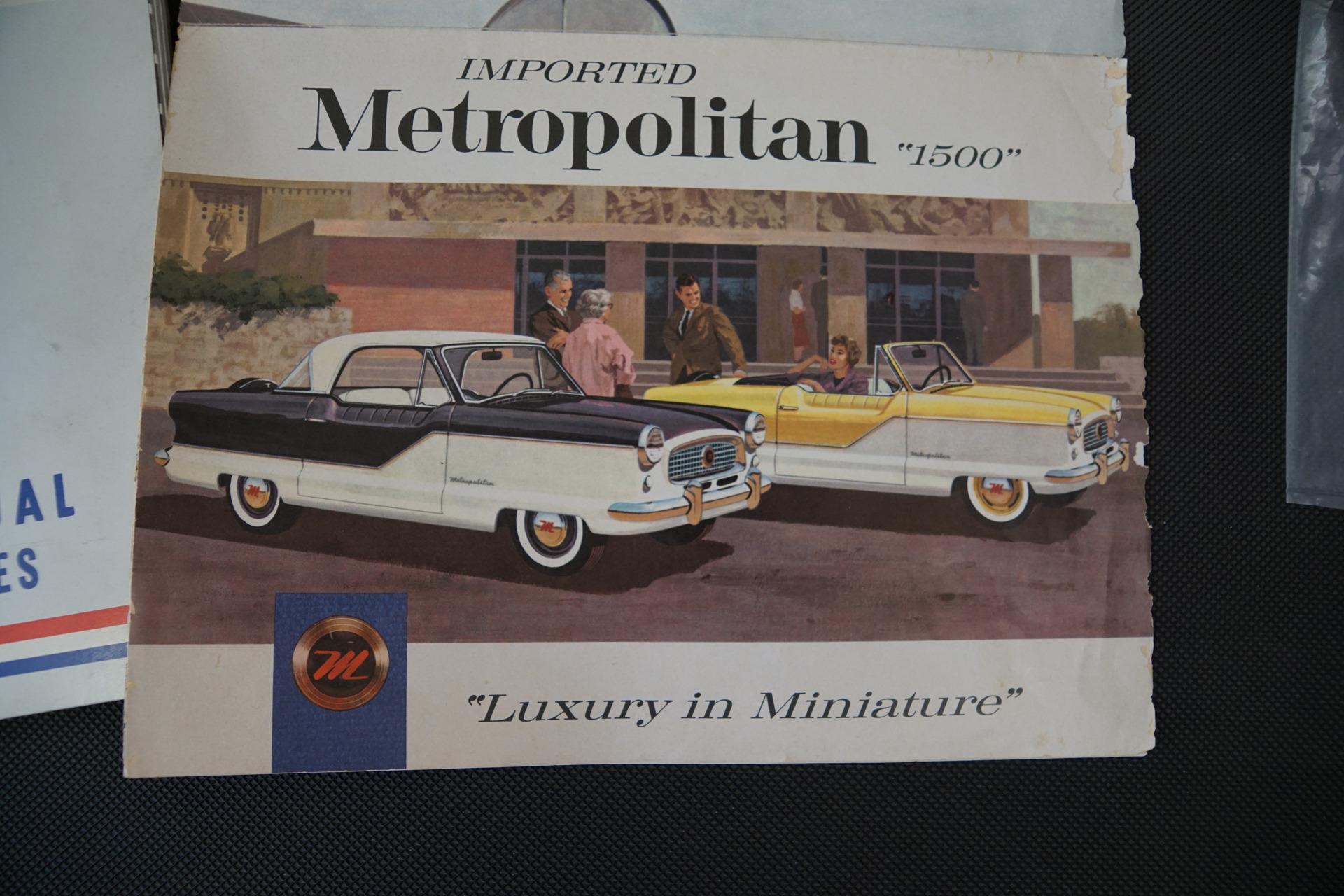 1959 Nash Metropolitan COUPE --: 23100 Miles 1500 4 cylinder ManualCoupe