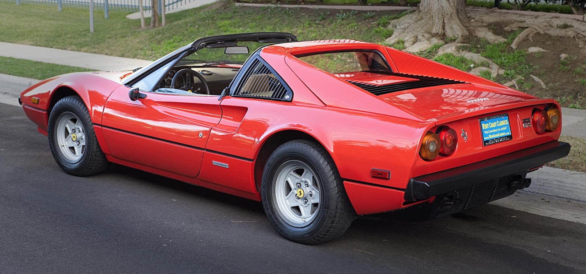 1979 Ferrari 308 Gts Spyder Stock 847 For Sale Near