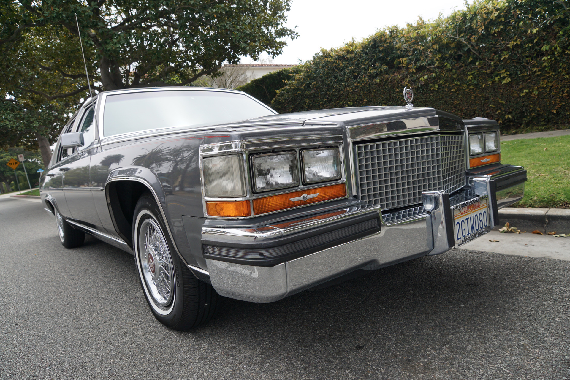 1987 Cadillac Brougham D'Elegance Sedan Stock # 341 for sale
