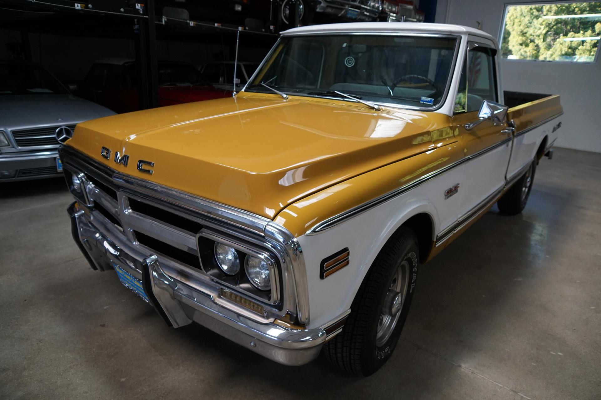 1972 Gmc Full Size C20 3 4 Ton Fleetside Longbed 2500 Sierra